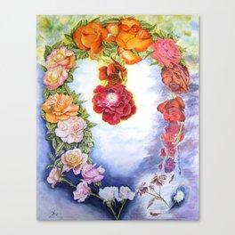 LOVE-Story Canvas Print