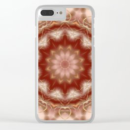 Peace of soul Clear iPhone Case