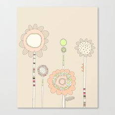 Little Daisies Canvas Print