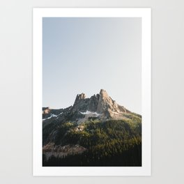 North Cascades Sunset Art Print