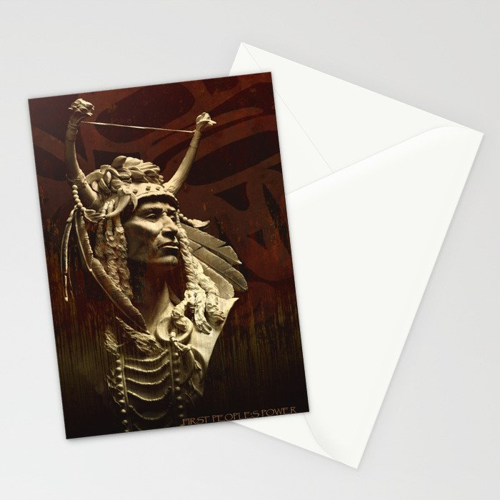 First peoples Power Stationery Cards