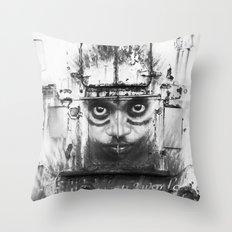 Boatface Throw Pillow