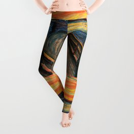 "Edvard Munch, "" The Scream "" Leggings"