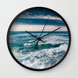 Sunset Cliffs San Diego Wall Clock