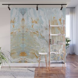 Gold and shine Wall Mural