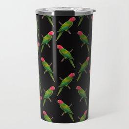 Parrot Pattern Travel Mug