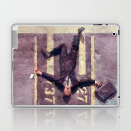Lloyd Christmas Fell Off The Jetway Again - Dumb And Dumber Laptop & iPad Skin