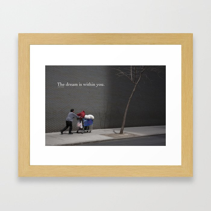 Dream series Framed Art Print