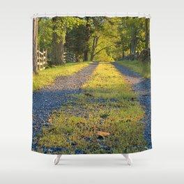 Gettysburg Gravel Road Shower Curtain