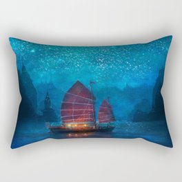 Our Secret Harbor Rectangular Pillow