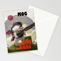 Retro Big Boss Promo  Stationery Cards
