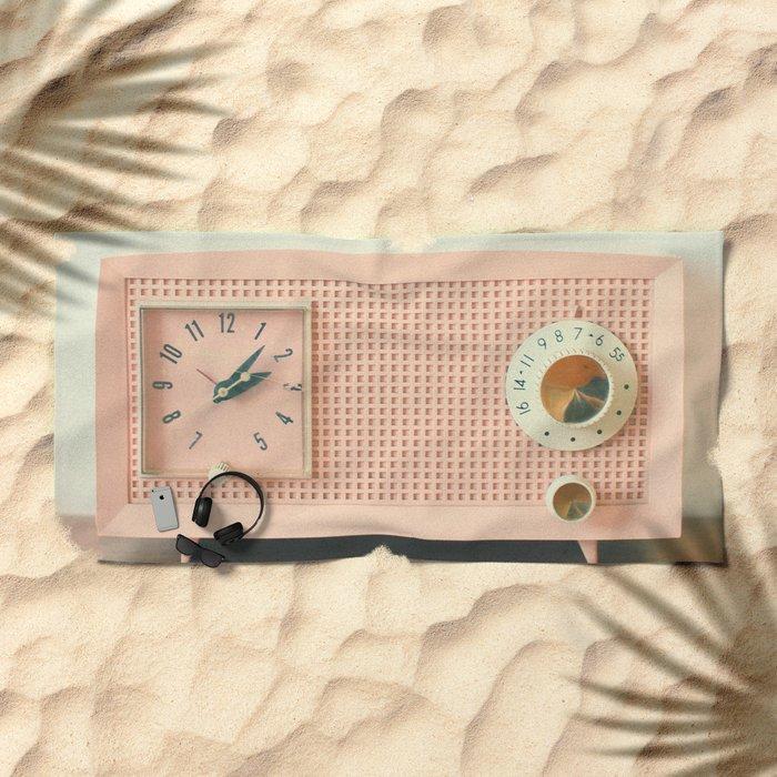 Easy Listening Beach Towel