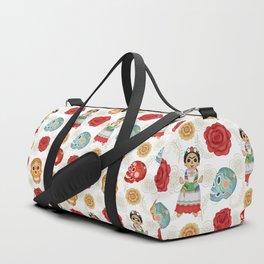 Dia de los muertos pattern 1 Duffle Bag