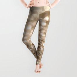 Gold Lady Glitter #2 #shiny #decor #art #society6 Leggings