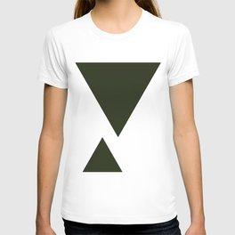 Abstract Black T-shirt