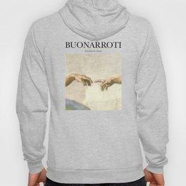 Buonarroti - Creation of Adam Hoody