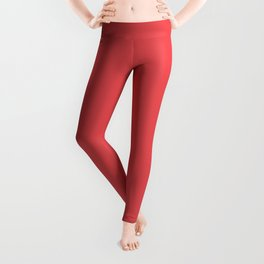 Dunn and Edwards 2019 Curated Colors Strawberry Jam (Bright Red) DE5076 Solid Color Leggings