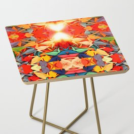 Senbazuru rainbow Side Table