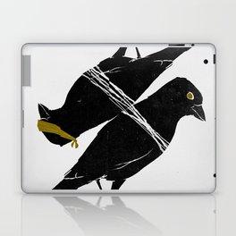 bird heist Laptop & iPad Skin