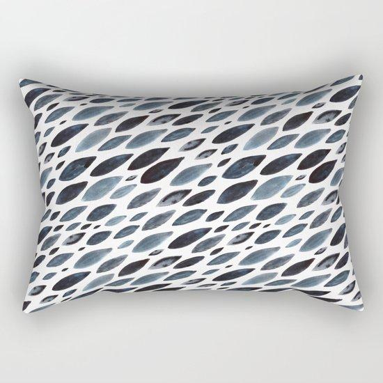 Indigo shoal Rectangular Pillow