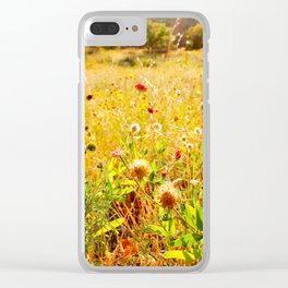 (Texas) Field of Dreams Clear iPhone Case