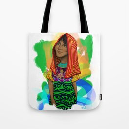 Ustup - kuna/guna girl Tote Bag