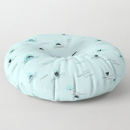 Sharkhead - Shark Pattern Floor Pillow