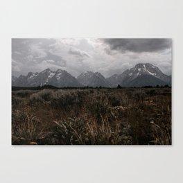 Tetons II Canvas Print