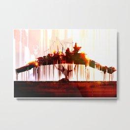 Ship Lift Metal Print