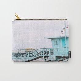 Santa Monica Pier Lifeguard Carry-All Pouch