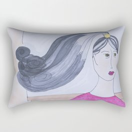 Cut and Color Needed Rectangular Pillow