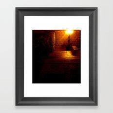 Night Crest 5 Framed Art Print