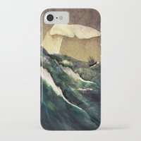 moby dick iPhone & iPod Cases featuring Moby Dick by Rachael Shankman
