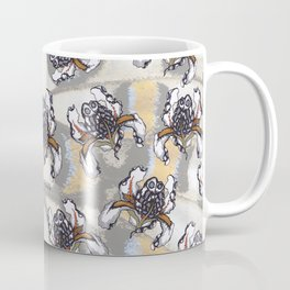T.F TRAN MULTICOLOUR BUTTERFLY IRIS Coffee Mug