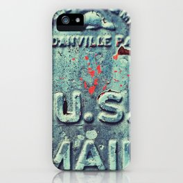 US mail iPhone Case