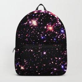 Quintuplet Cluster Pink Coral Violet Backpack