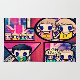 One Direction-5 Rug