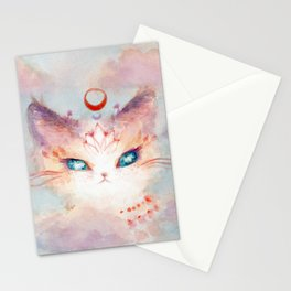 Stargazer Cat : Vision Seeker Stationery Cards
