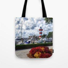 Hilton Head Lighthouse Tote Bag