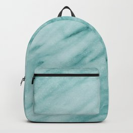 Audace Turchese green marble Backpack