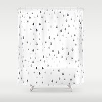 fall Shower Curtains featuring Fall by MatiasMilton