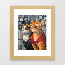 Cat Gordon and Dale Purrden Framed Art Print