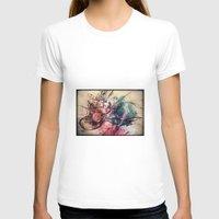 drum T-shirts featuring Drum by Joanne Chen