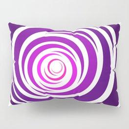 Spinnin Round Purple Pillow Sham