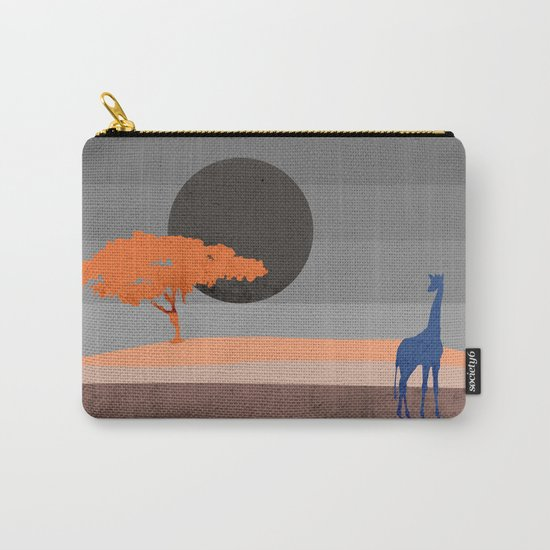 Giraffe , you are not alone Carry-All Pouch
