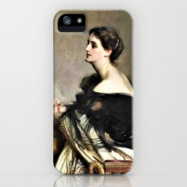 Lady Eden - Digital Remastered Edition iPhone Case