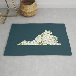 Virginia in Flowers Rug