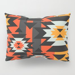 Aztec geometry Pillow Sham