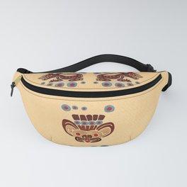 Mayan Baby Jaguar Folk Art Textile Fanny Pack