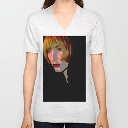 Sassoon Crop Unisex V-Neck